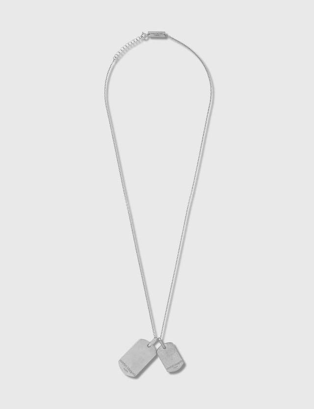Maison Margiela Dog Tag Necklace