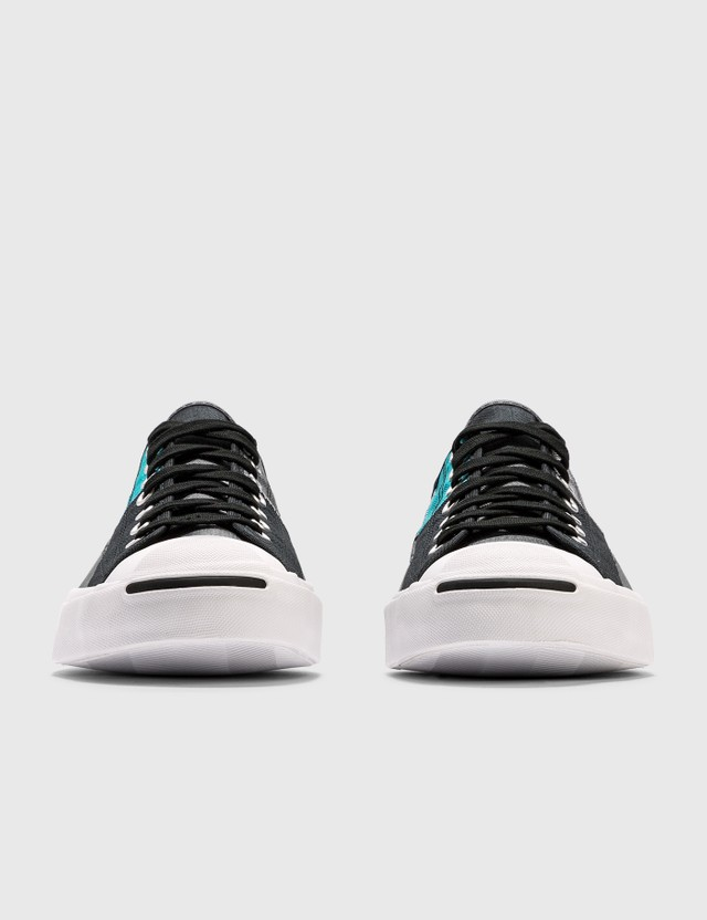 Converse Jack Purcell Black/rapid Teal/white Men