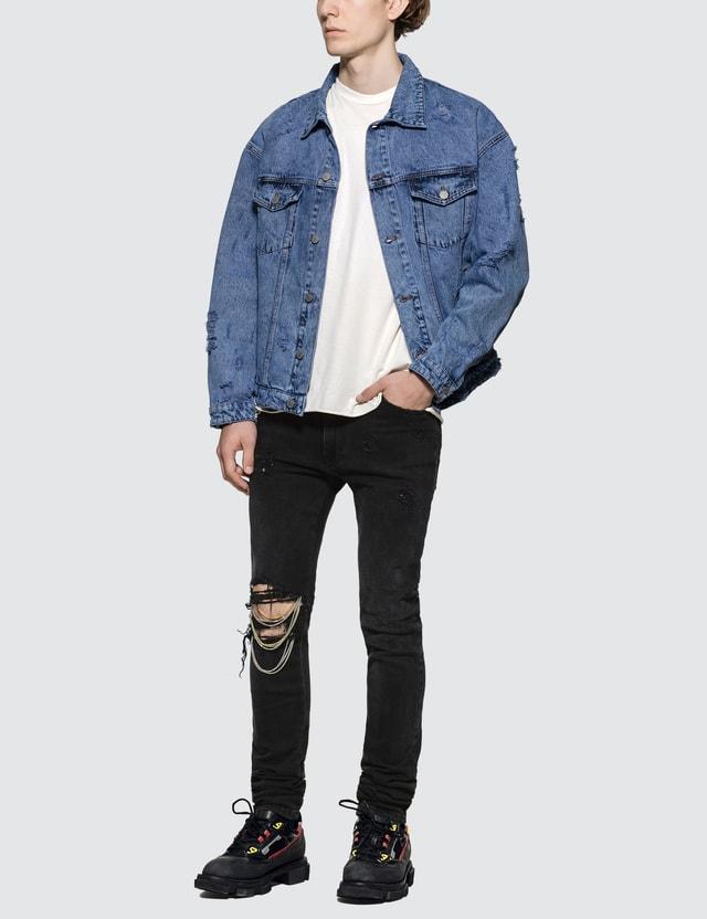 Alchemist Johnny Distressed Skinny Jeans
