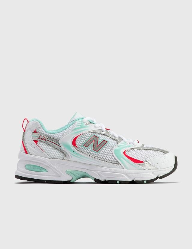 New Balance 530 White & Turquoise Women