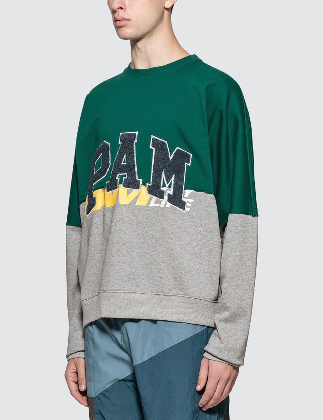 Perks and Mini Ppaamm Half Way Crew Neck Sweatshirt