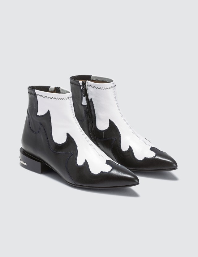 Toga Pulla Soft Leather Ankle Boots