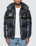 Moncler Nylon Down Jacket with Patch Detail Picture