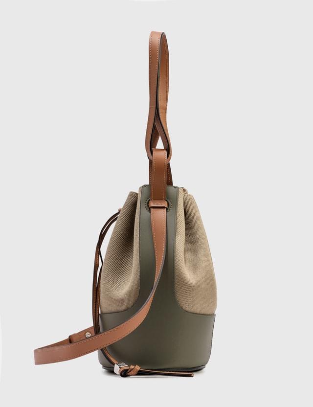 Loewe Small Balloon Bag Creta/green Women