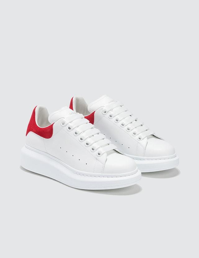 Alexander McQueen Oversized Sneaker White/lust Red Women
