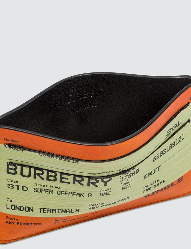 Burberry Burberry Train Ticket Card Holder