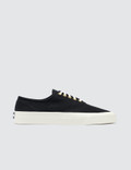 Maison Kitsune Par Perm Canvas Laced Sneakers Picture