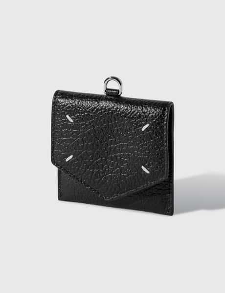 메종 마르지엘라 Maison Margiela Grainy Leather Card Holder