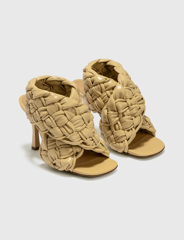 Bottega Veneta BV Board Sandal Butter Women