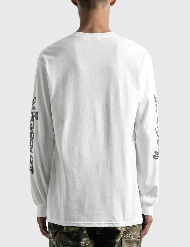 Icecream Icecream X Jun Inagawa Long Sleeve T-shirt White Unisex