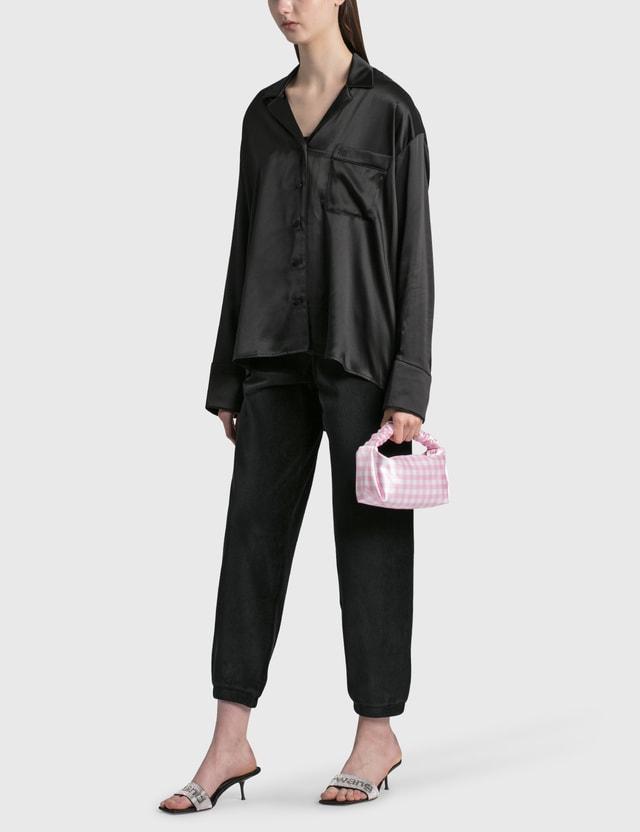 Alexander Wang.T Embroidered Pajama Shirt