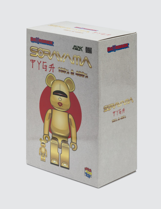 Medicom Toy 100% + 400% Sorayama x Tyga Be@rbrick Set