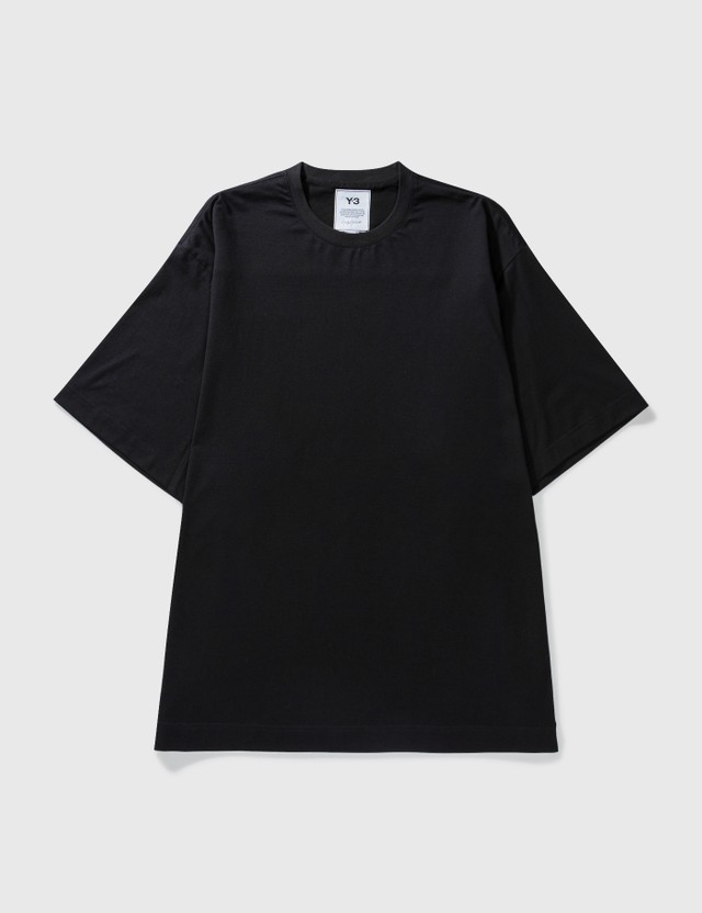 Y-3 Classic Paper Jersey T-Shirt Black Men