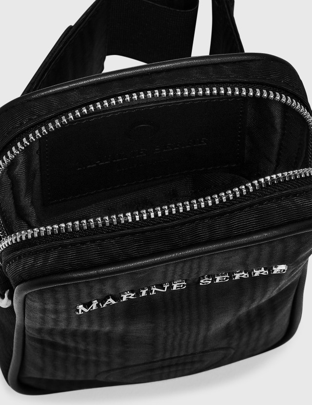 Marine Serre One Pocket Phone Case Bag 00 Black Men