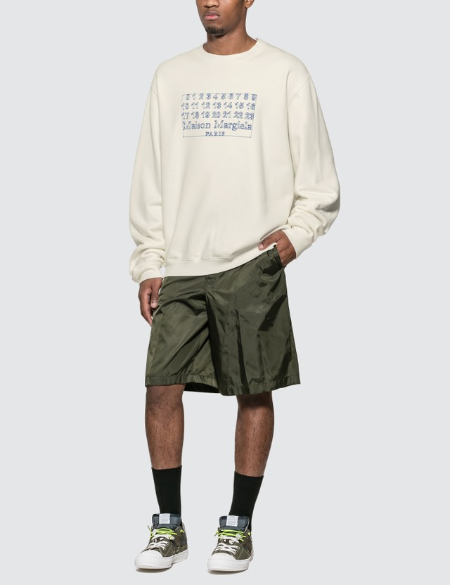 Maison Margiela Embroidered Logo Sweatshirt