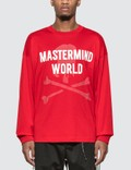 Mastermind World Logo Print Long Sleeve T-Shirt Picutre