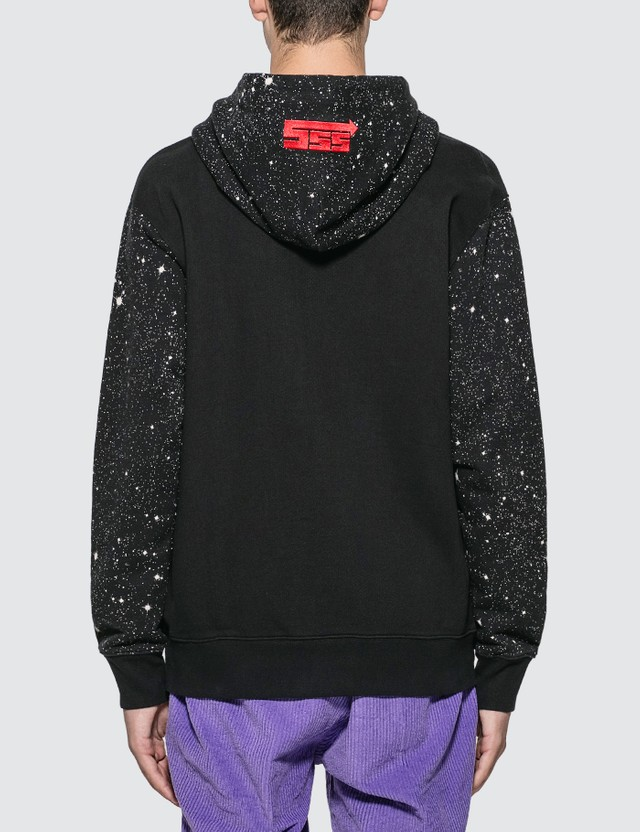 SSS World Corp Alien Transmissions Universe Front Zip Sweater