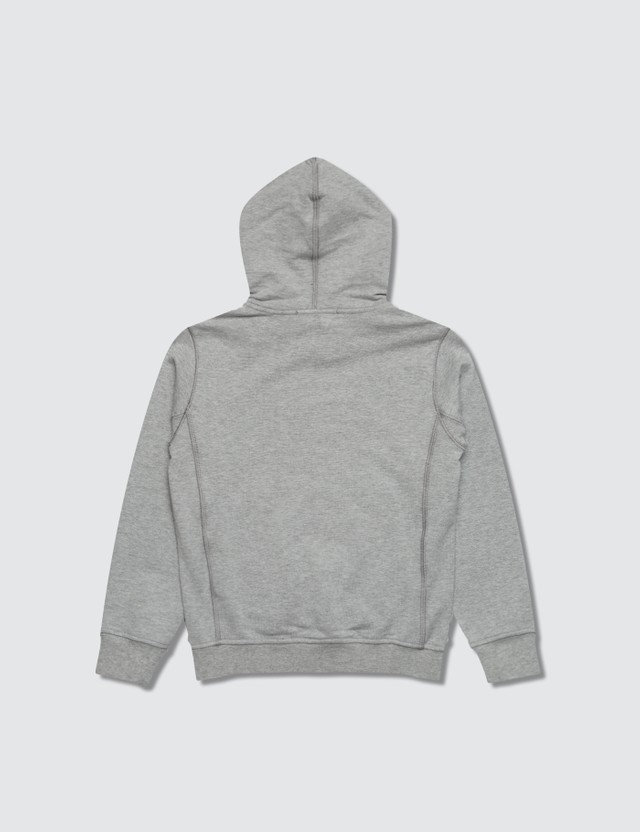 Stone Island Compass Logo Toddler Hoodie Grey Kids