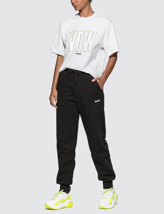 MSGM WOW Logo T-shirt