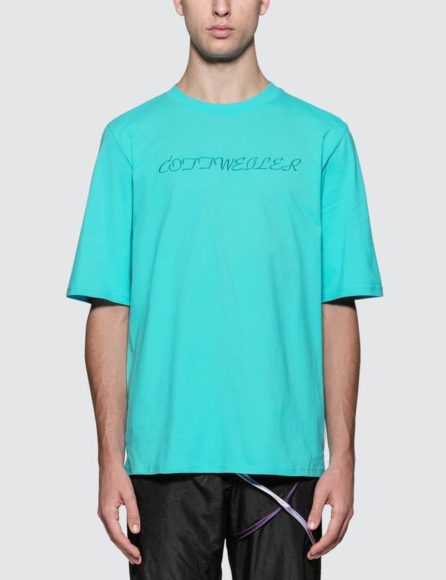 Cottweiler Signature 4.0 S/S T-Shirt Aqua Men