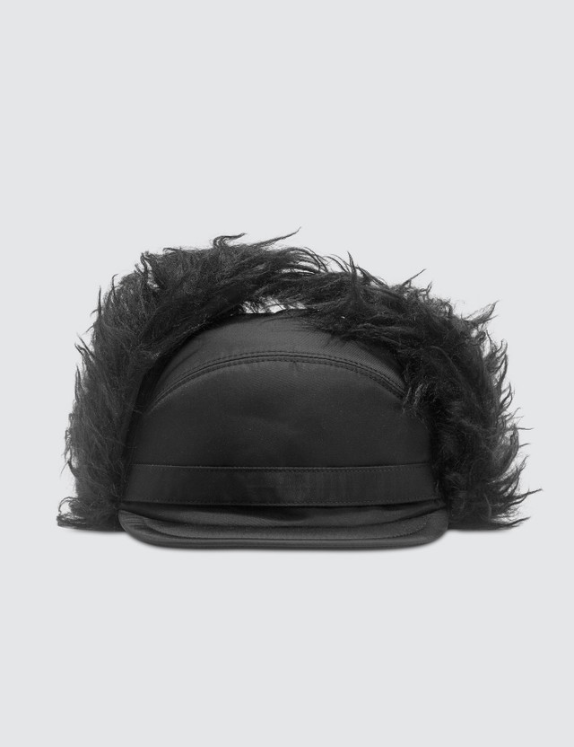 Prada Fabric And Mohair Cap