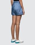 Prada Nylon Gabardine Sport Shorts