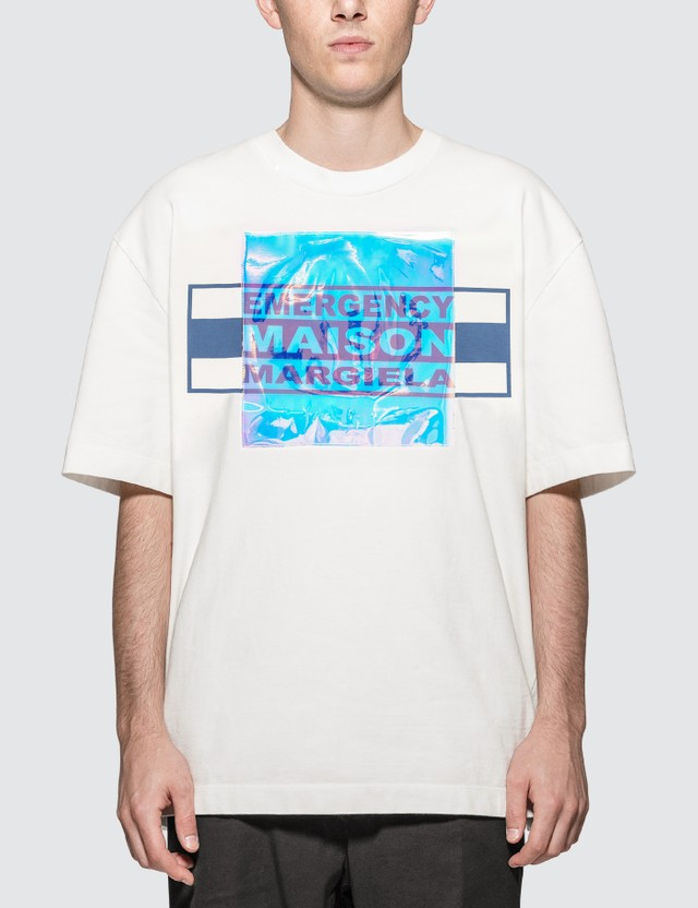 Maison Margiela Holographic Patch Logo T-Shirt