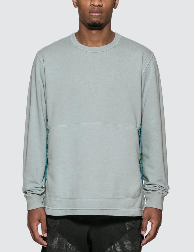 Stone Island Shadow Project Compact Fleece Sweatshirt Grigio Perla Men