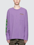 Stussy Leaves L/S Crewneck Picture