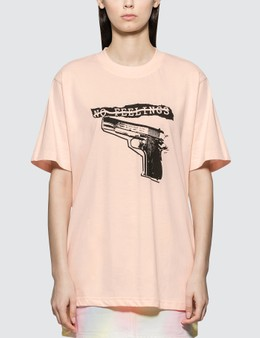 Wasted Paris No Feelings Light Pink T-shirt