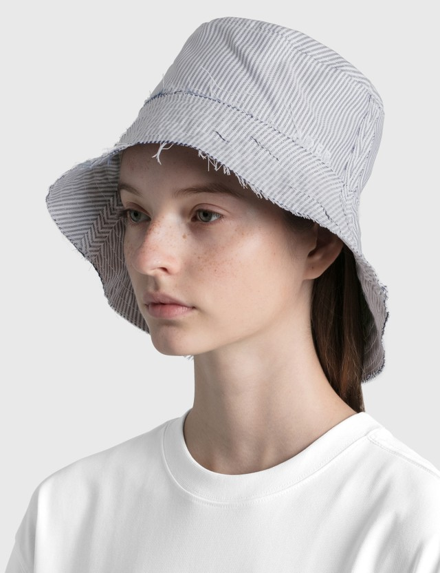 Ader Error Needle Logo Cloche Hat White (white) Women