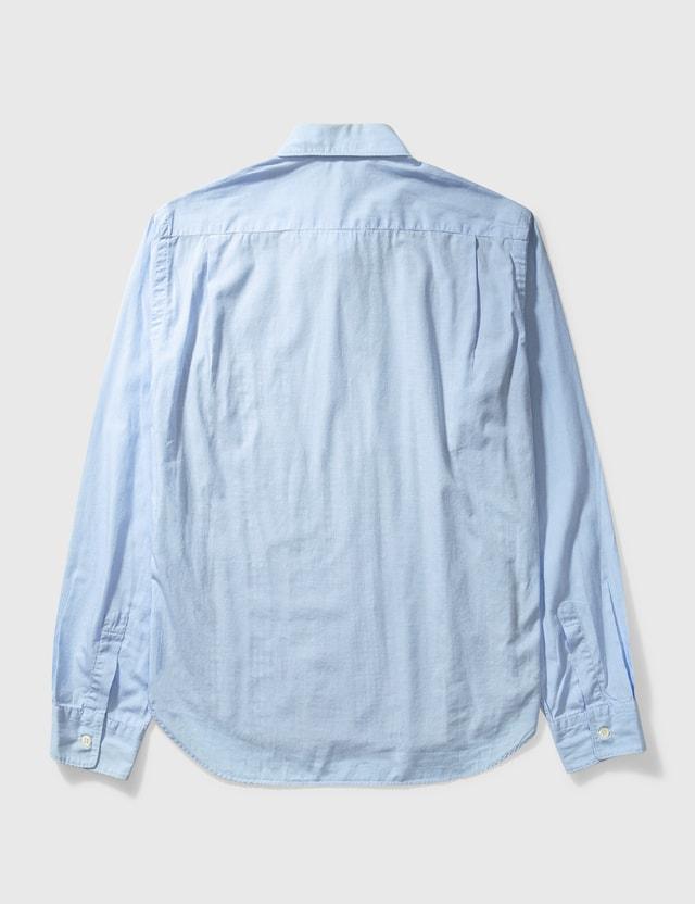 Comme des Garçons HOMME Comme Des Garçons Homme Patch Shirt Blue Archives