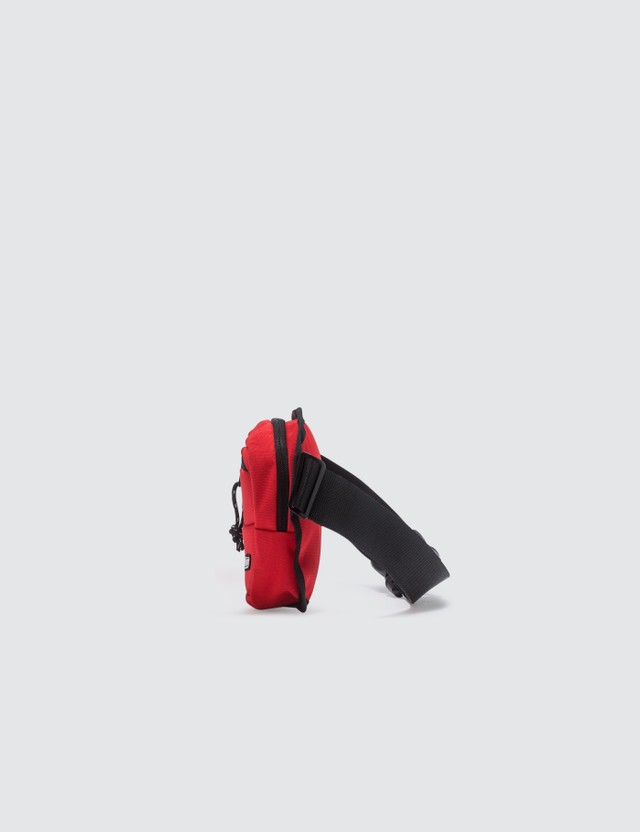 MSGM Logo Bum Bag Red Men
