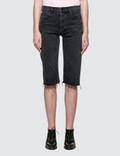 Helmut Lang Cut Off Knee Length Shorts Picture
