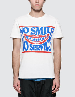 Stella McCartney No Smile No Service Print S/S T-Shirt
