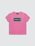 Versace Versace Box Logo T-Shirt (Toddler) 사진