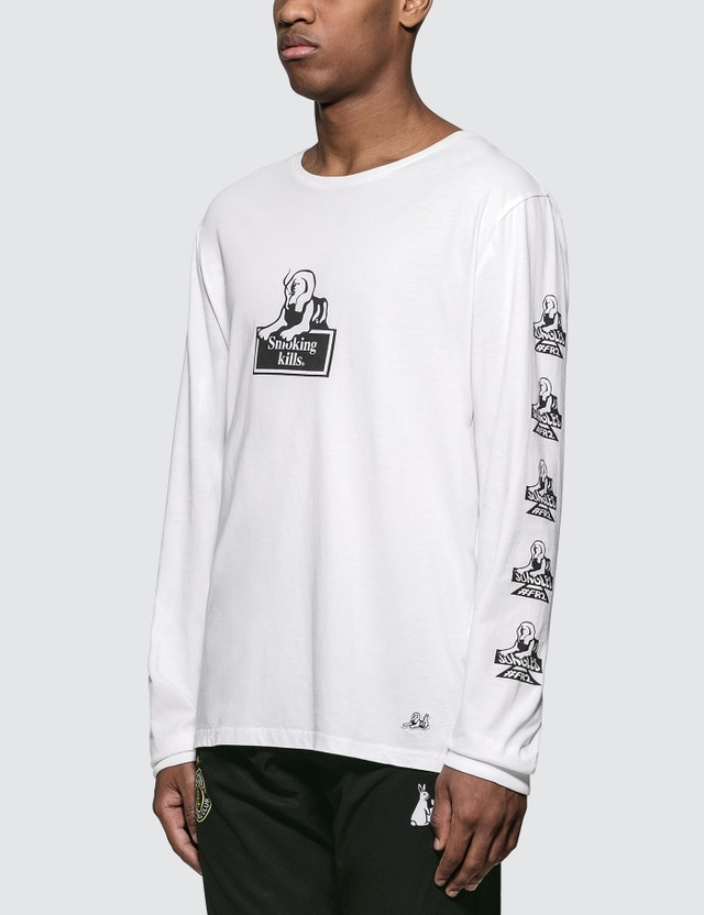 #FR2 #FR2 x Jungles Smoking Kills L/S T-Shirt