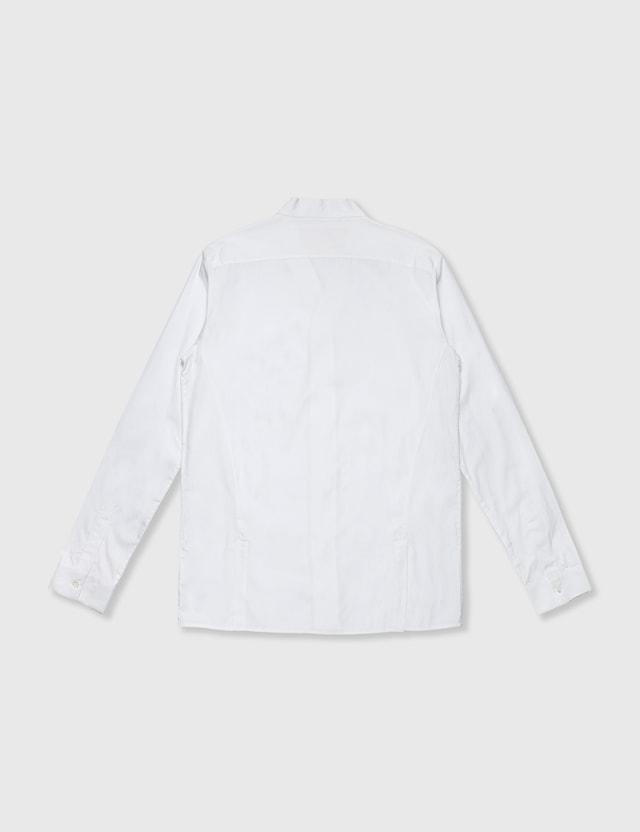 Ginko Ginko Kimono Collarshirt White Archives