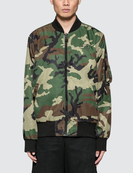 HUF | Huf Standard Issue MA-1 Jacket | Goxip