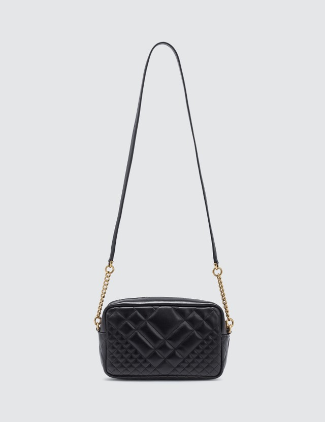 Versace Icon Quilted Crossbody Bag