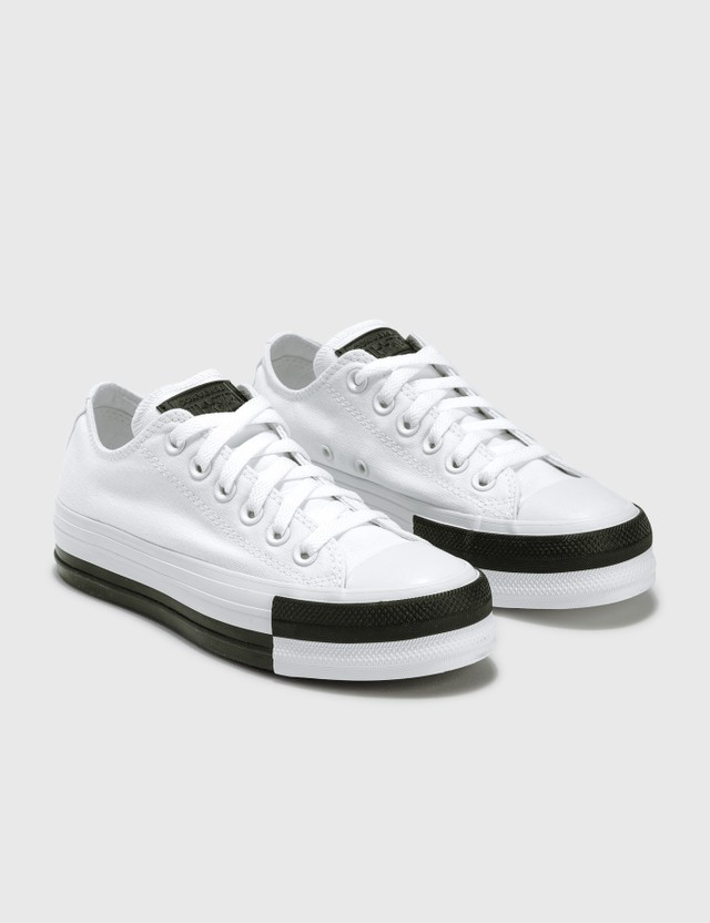 Converse Rivals Platform Chuck Taylor All Star White/black/white Women