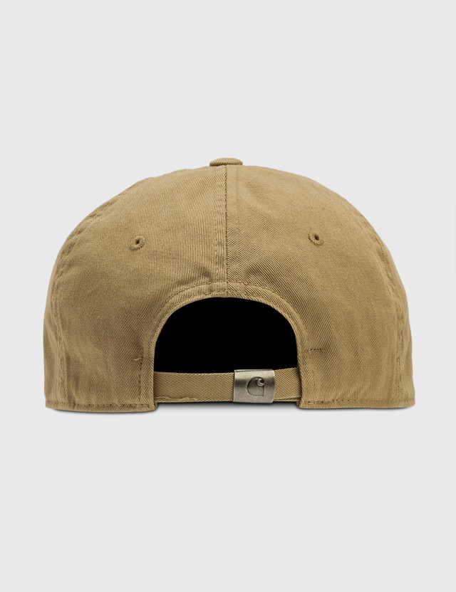 Carhartt Work In Progress Madison Logo Cap Leather / Black Men