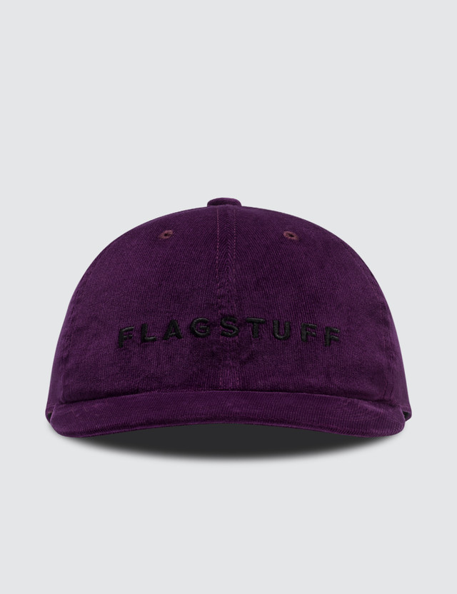"Flagstuff ""F-LAGSTUF-F"" Corduroy Cap"