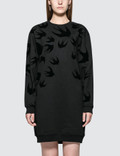 McQ Alexander McQueen Classic Sweat Dress Picture