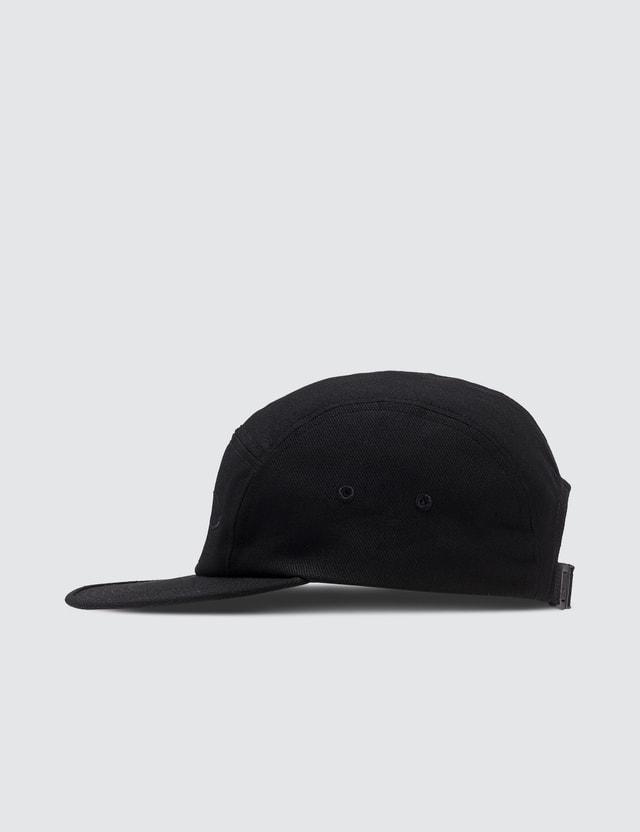 Maison Kitsune Black Fox Cap