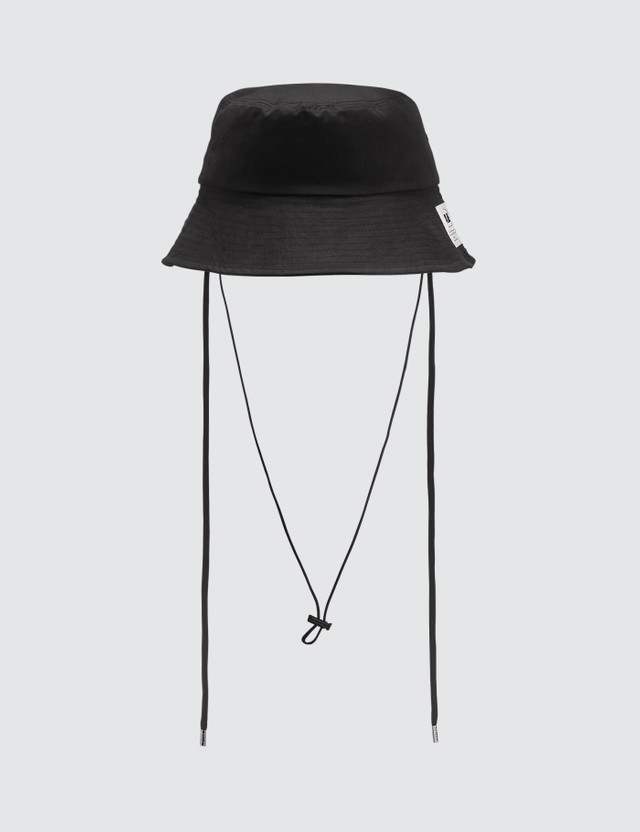 Ader Error Drawstring Bucket Hat