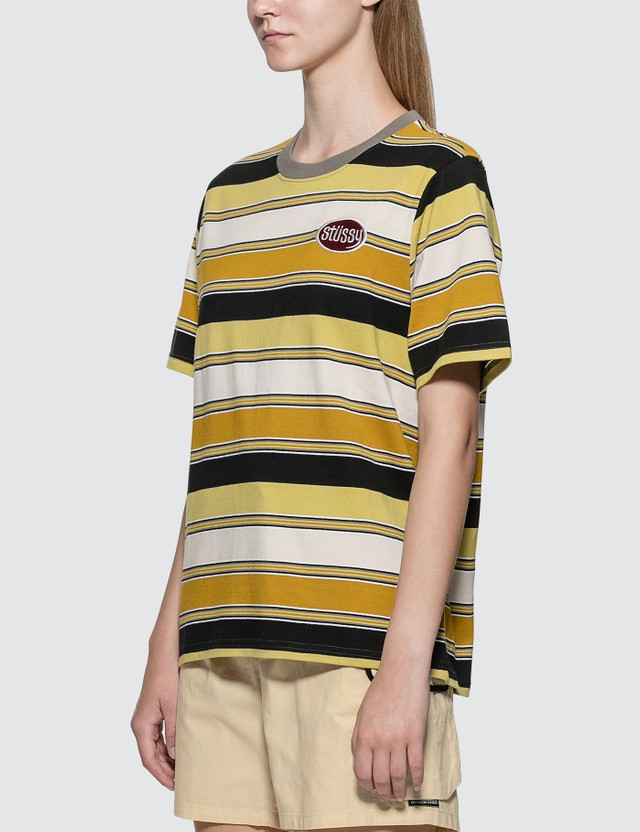 Stussy Carl Stripe T-shirt