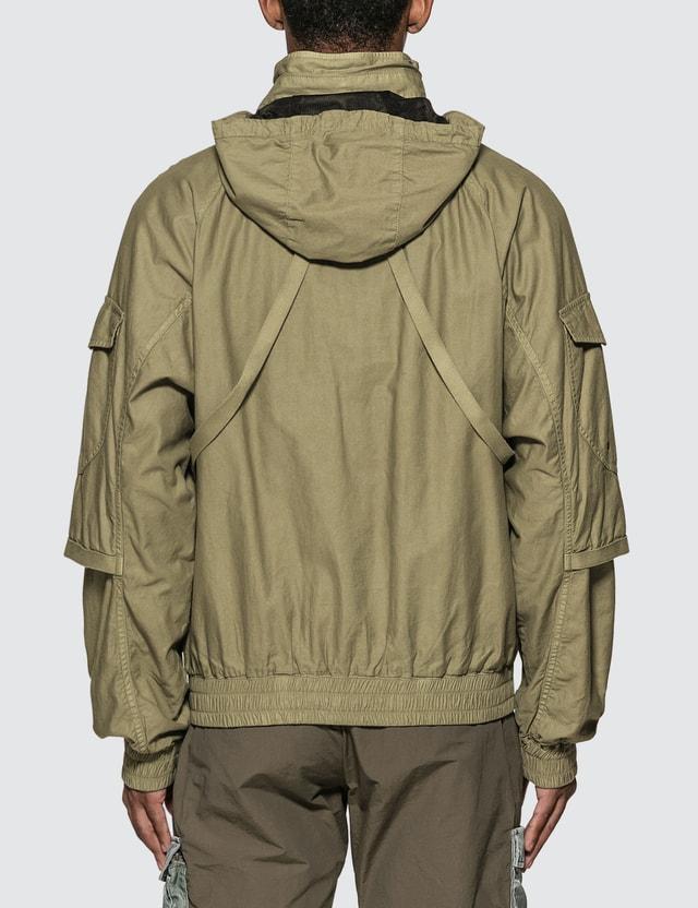 John Elliott Back Sateen Canopy Bomber Jacket