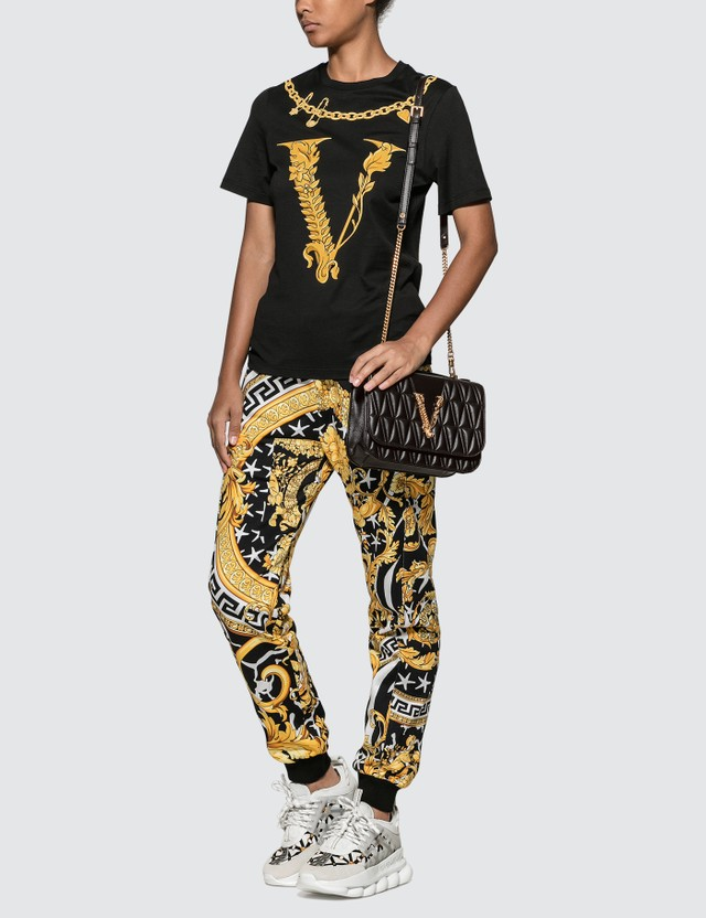Versace Virtus Motif T-shirt