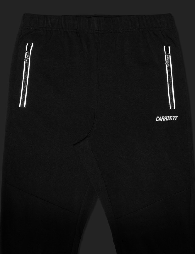 Carhartt Work In Progress Pace Sweat Pants Black / Reflective Grey Men